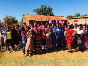 VMC Zambia provided health education to females in Kabwe